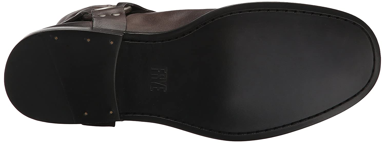 FRYE Women's Phillip Short Harness Boot B06VSN9QL8 9 B(M) US Smoke