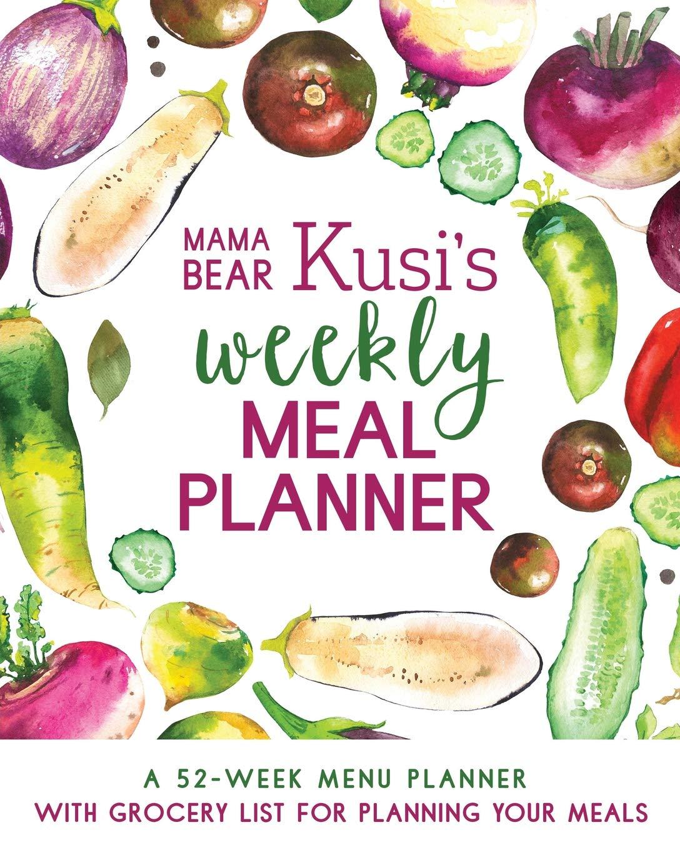 Mama Bear Kusis Weekly Planner product image