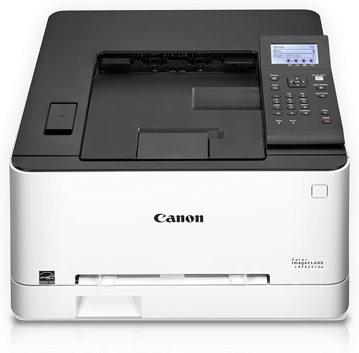 Canon Color Image CLASS LBP622Cdw -Wireless, Mobile Ready, Duplex Laser Printer, Compact Size - White