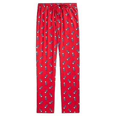 7d102a39416cd Polo Ralph Lauren Men s Allover Polo Bear Soft Cotton Pajama Pants Bottoms  Sleep Loungeware (Small
