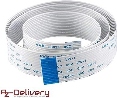 AZDelivery Cable de cinta flexible de repuesto Flex Cable 50 cm ...