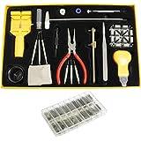 301 Pièces Kit de réparation de montre- Kurtzy TM dans une boite set de remplacement de piles