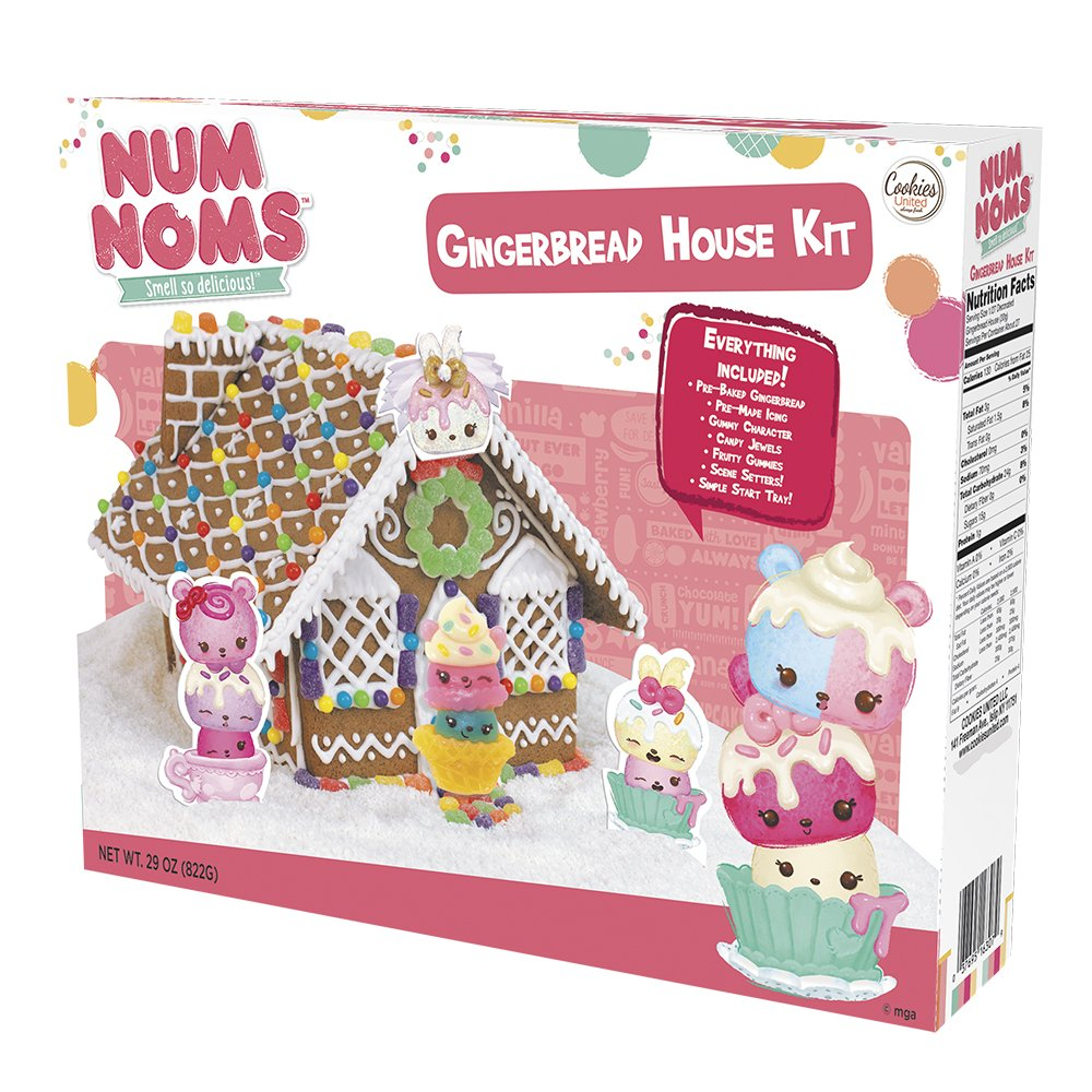 Amazon.com : Num Noms Gingerbread House Kit : Grocery & Gourmet Food