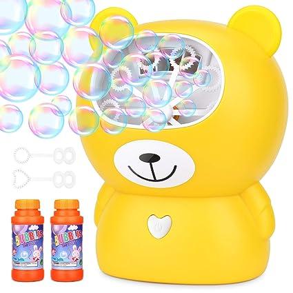 Amazon.com: Amagoing - Máquina de burbujas con carga USB ...