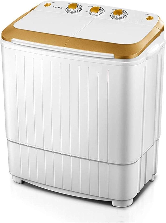 Lavadora portátil Lavadora de camping, lavadora portátil, lavadora de bañera doble 8,0 kg de capacidad total de capacidad y secador de espinillas for camping dormitorios apartamentos colegios habitaci