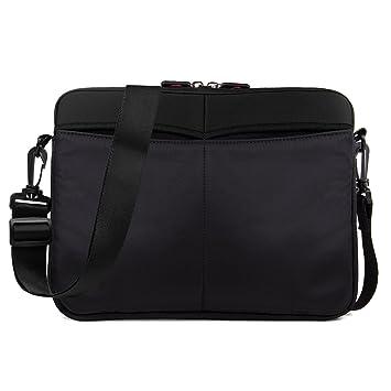 Amazon.com: Laptop Sleeve con correa extraíble y bolsillos ...