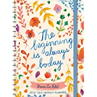 """Image for Meera Lee Patel 2021 On-the-Go Weekly Planner: 17-Month Calendar with Pocket (Aug 2020 - Dec 2021, 5"""" x 7"""" closed): The Beginning Is Always Today"""