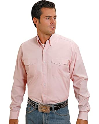 fd370ba03fa Stetson Men's Solid Button Shirt at Amazon Men's Clothing store: