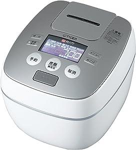 Tiger IH Pressure Rice Cooker Cooked 5.5 Go Cook Raster Black JPB-G100-WL