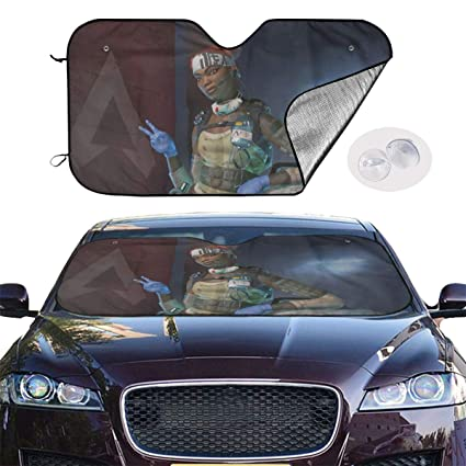 JKKSA Parasol Protector Solar para la Parabrisa Delantera del Coche Mitsubishi Motors Logo Auto Shield Cover Sun Shade for Windshield UV Sun and Heat Reflector