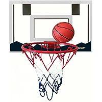 Speedy Mini Canasta de baloncesto con 45,7x 30,5cm Shatterproof Backboard y doble Primavera Breakaway Rim