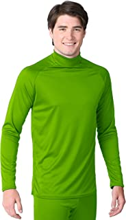 product image for WSI Microtech Long Sleeve Form Fit Performance Shirt, Neon Green, Small