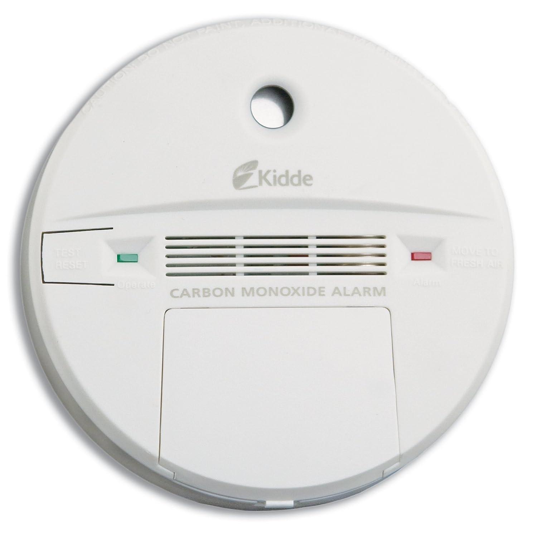 Kidde KN-COB-B Battery-Operated Basic Carbon Monoxide Alarm with  Electrochemical Sensor, 1-Pack - Combination Smoke Carbon Monoxide Detectors  - Amazon.com
