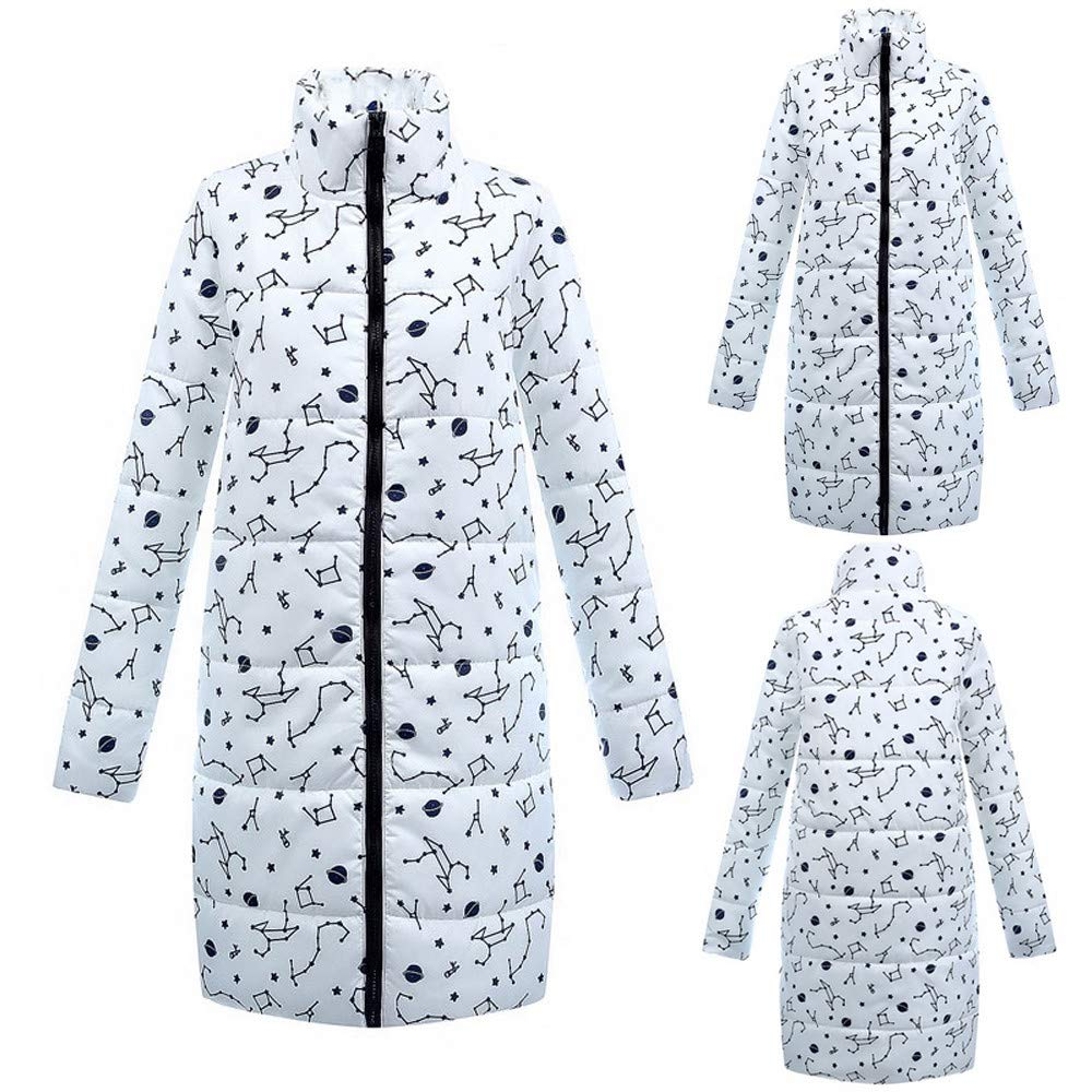 Ropa de algodón, algodón, algodón Abajo LILICAT, Womens Winter Warm Long Down Cotton Ladies Parka Chaqueta Acolchada Outwear: Amazon.es: Juguetes y juegos