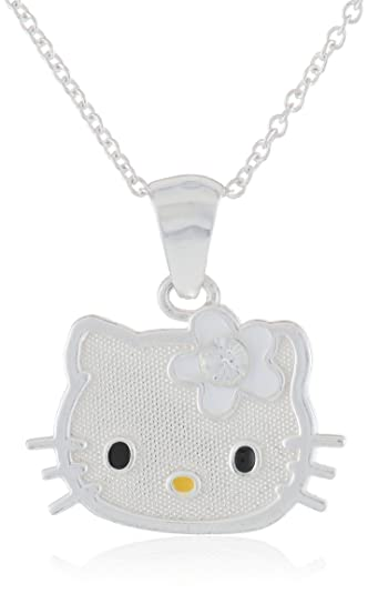 Amazon hello kitty girls sterling silver april simulated hello kitty girls sterling silver april simulated birthstone pendant necklace and chain aloadofball Image collections