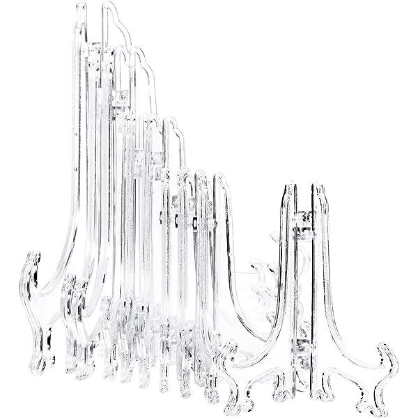 Clear 5205-81 Darice Home Decor 2012 5 Easel Plastic