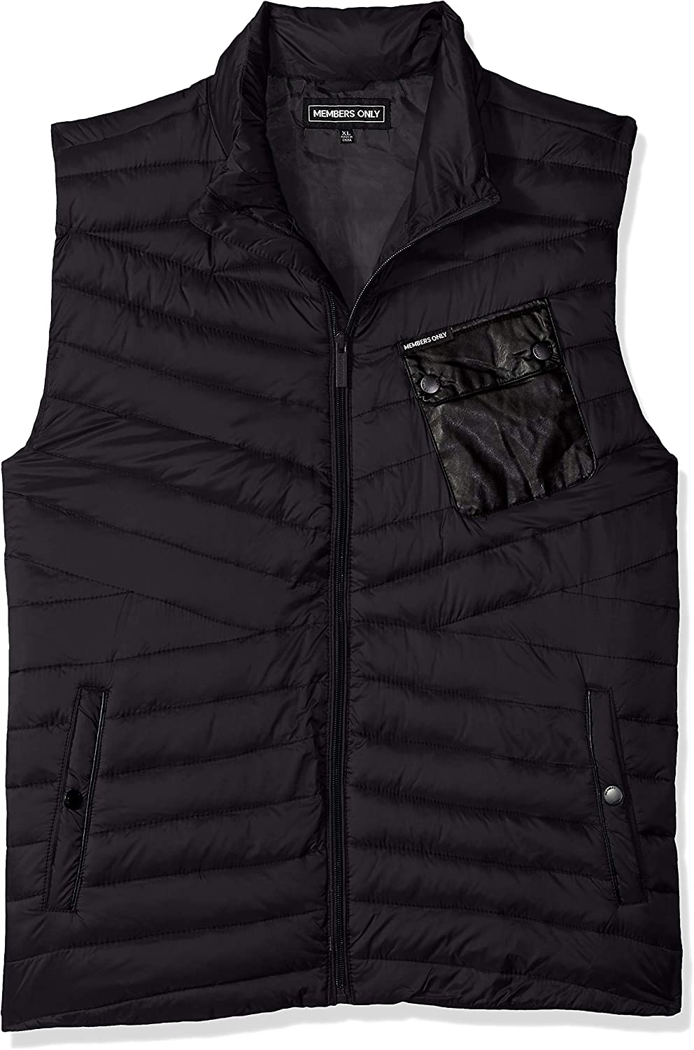Members Only Mens Puffer Vest