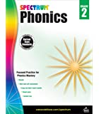Spectrum Paperback Phonics Workbook, Grade 2, Ages 7 - 8