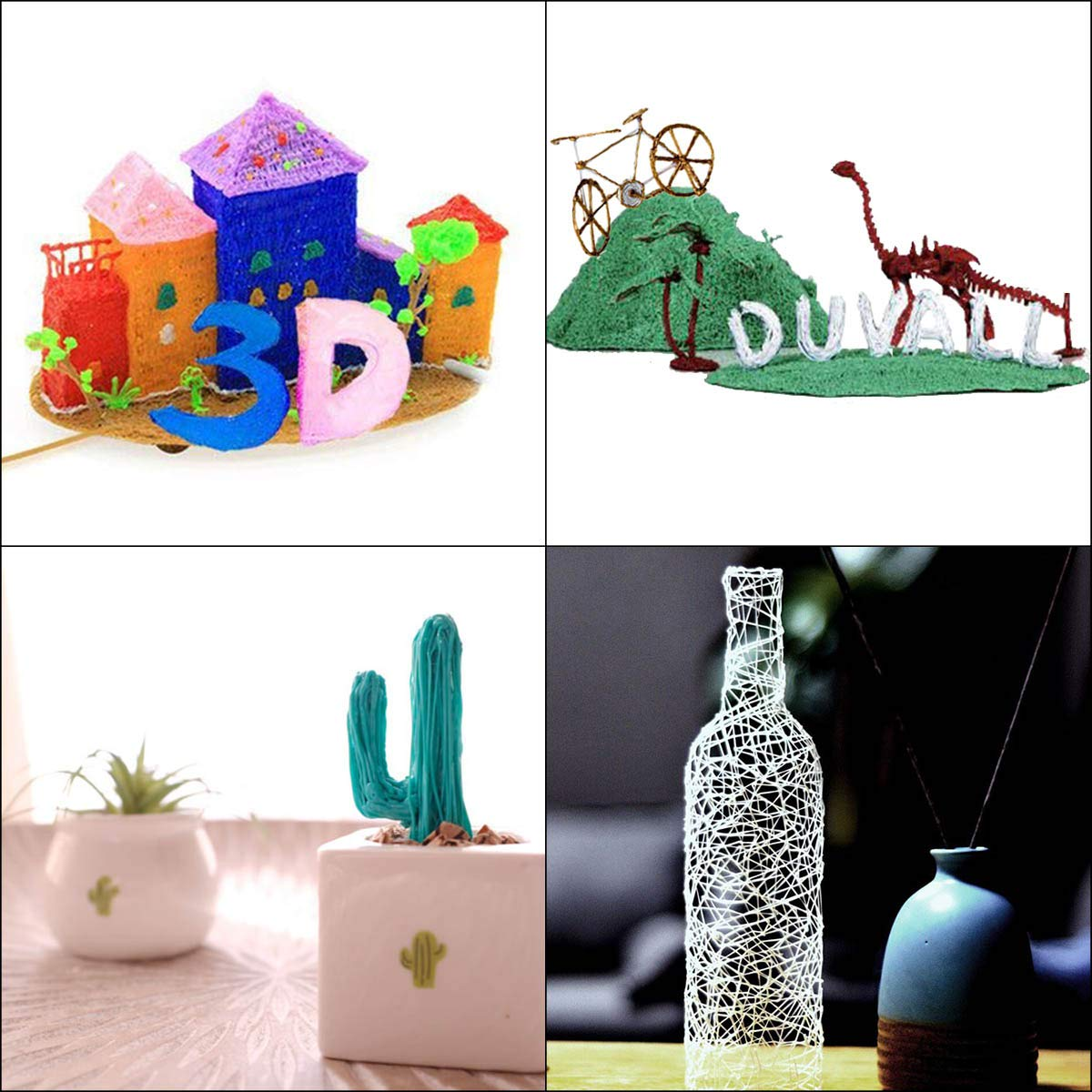 INKERSCOOP 3D Pen,3D Printing Pen Children Gifts 3D Art Educational Painting Pen for Kids, Adults