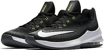 superior quality cc8fd 259ff Nike Air MAX Infuriate Low - Zapatillas Deportivas, Hombre, Negro - (Black