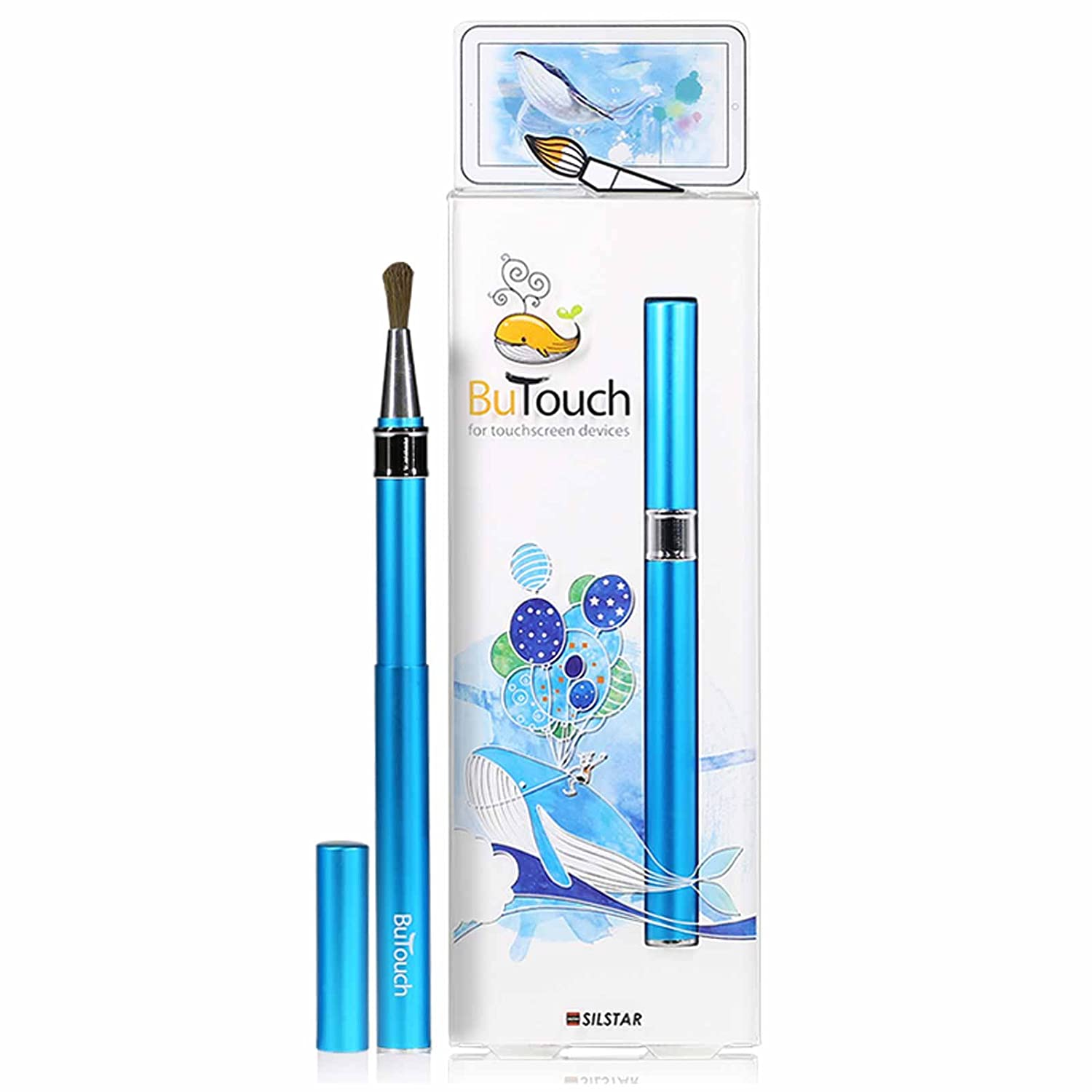 Silstar Butouch Digital Artist Touch Brush Stylus Pen For Android iPhone Tablet