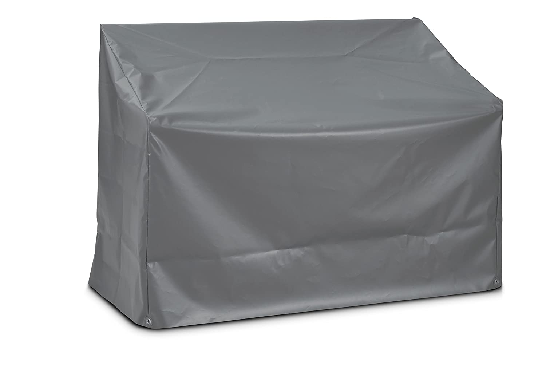 Eigbrecht 140103 Robusta Abdeckhaube Schutzhülle für Sitzbänke grau 130x75x90/65cm
