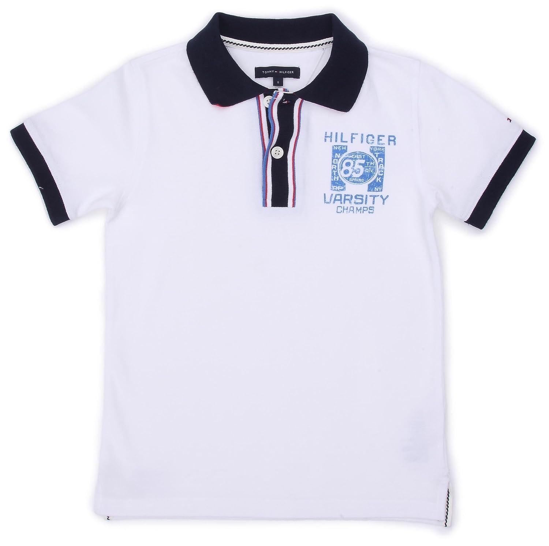 Hilfiger Denim - Polo - para niño Blanco (Classic White) 4 años ...