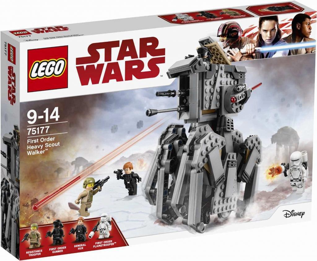 LEGO Star Wars The Last Jedi 75177 First Order Caminata de ...