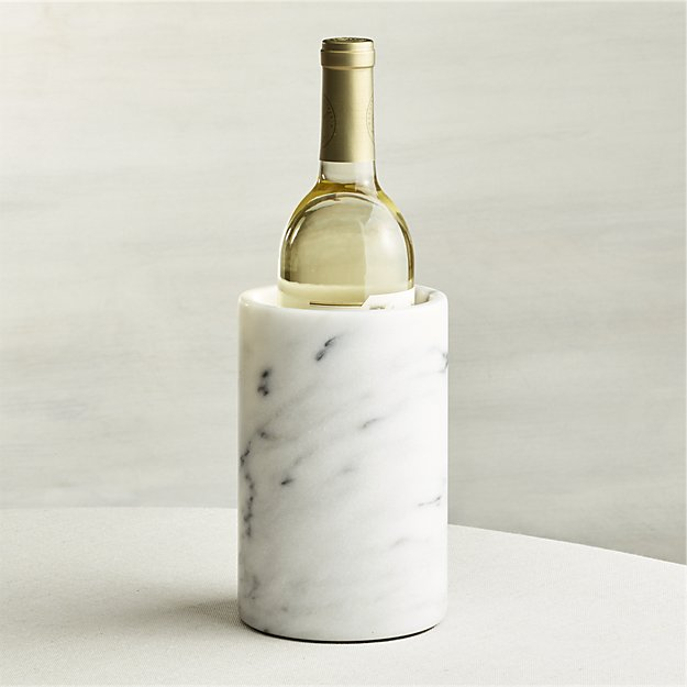 French Kitchen Marble Wine Cooler | Crate and Barrel