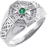 Amazon Com Solid Gold Celtic Wedding Band Trinity Knot