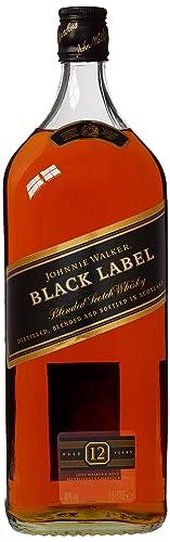 Johnnie Walker Black Label Blended Scotch Whisky, 1.5L