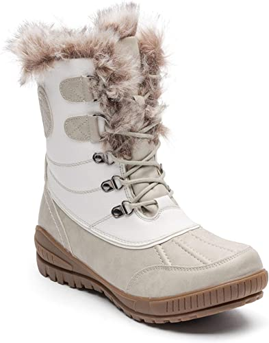 Kimberfeel, Delmos, stivali da neve, donna, bianco