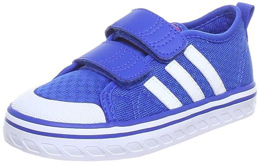 adidas Performance Vulcster CF I - Zapatillas de correr de material  sintético niño, color azul