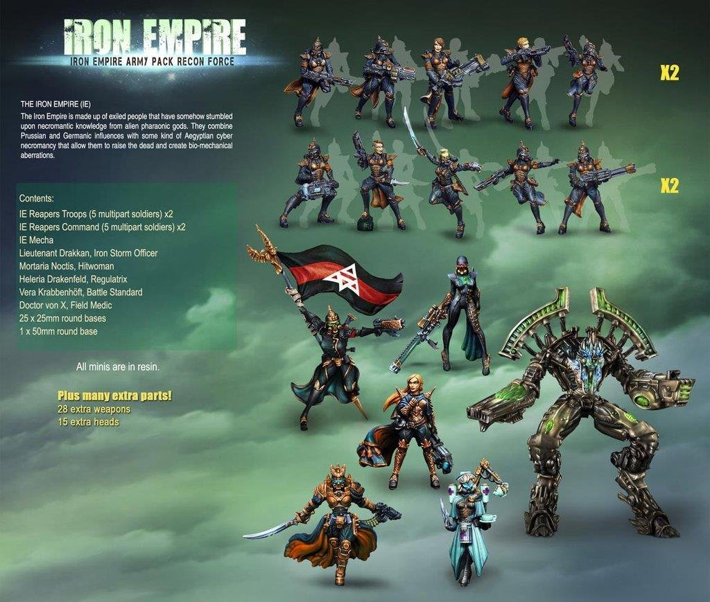 Iron Empire Army Pack - Recon Force