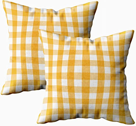 Amazon Com Sertiony Farmhouse Pillow Cover Home Decor Pillowcase Square 18x18inch 2pcs Plaid Digital Paper Pack Patterns Buffalo Check Picnic Tablecloth Gingham Backgrounds Red Blue Green For Bed Sofa Couch Home Kitchen