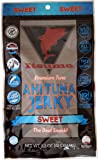 Itsumo Wild Ahi Tuna Fish Jerky Sweet (1 Pack) - Premium Sashimi Grade Yellowfin Tuna Fish - Healthy & All Natural Ingredients - Gluten Free Protein Snack