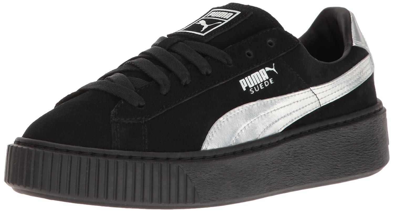 best authentic 4f3ac 34015 PUMA Women's Suede Platform Explos Bwn's Fashion Sneaker