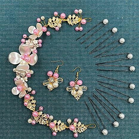 Accesorios para el pelo de novia coreana hechos a mano con ...