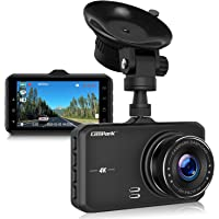Campark Dash Cam 4K UHD DVR Driving Recorder Camera for Car Dashboard with 3 inches LCD 170°Wide Angle G-Sensor Parking Monitor WDR Motion Detection Night Vision