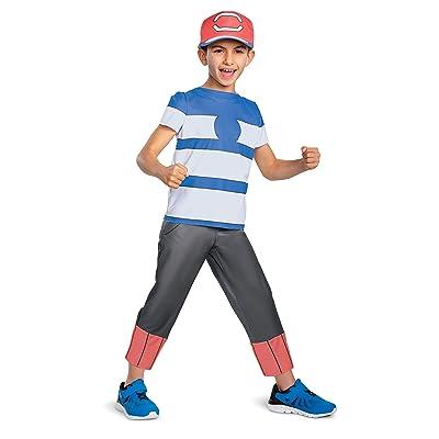 Disguise Ash Ketchum Alolan Pokemon Boys' Costume: Toys & Games