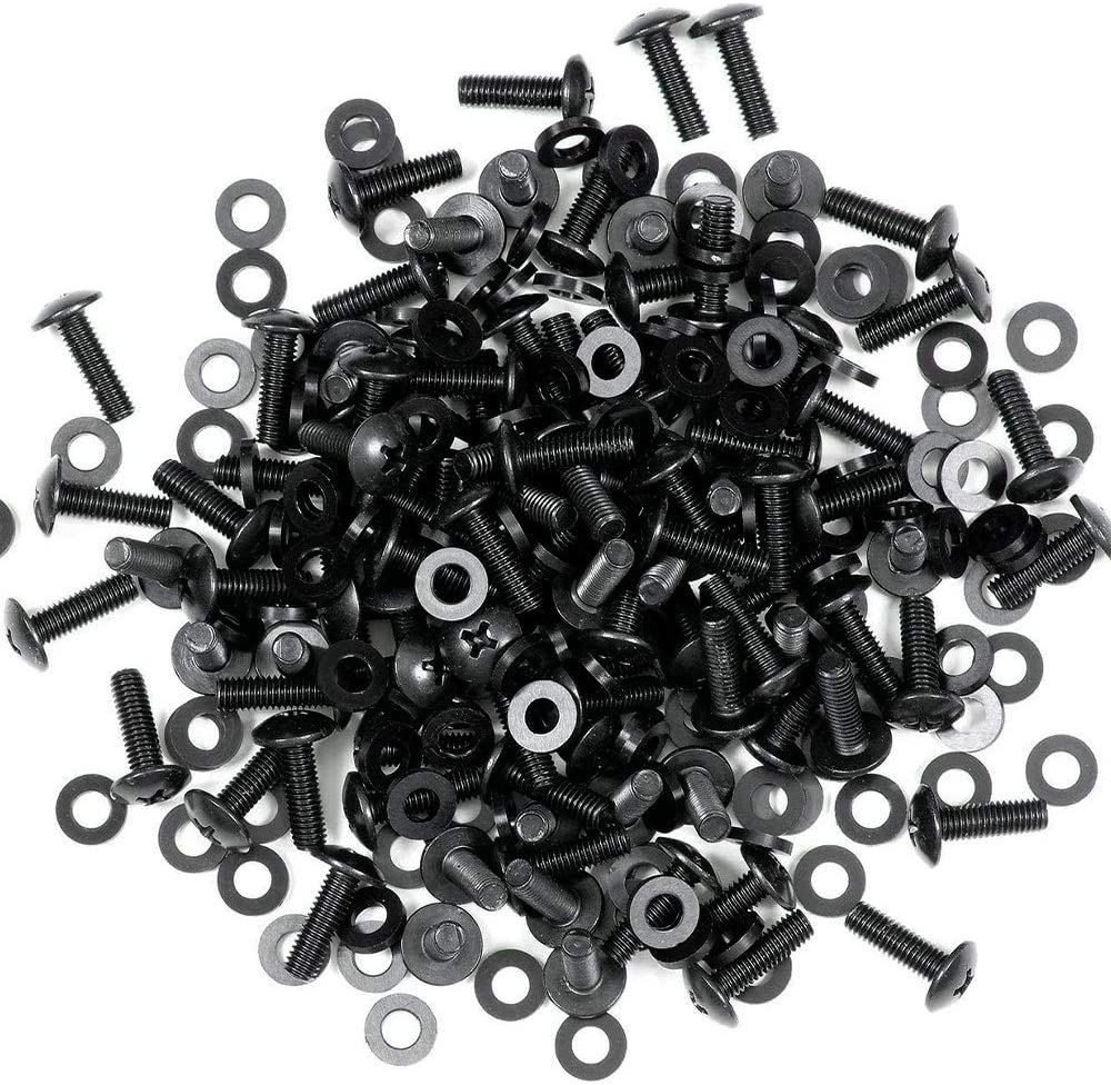 100 Sets Rack Rail Screws and Washers