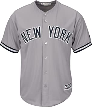 Majestic Athletic MLB New York Yankees Cool Base Road Jersey Small: Amazon.es: Deportes y aire libre