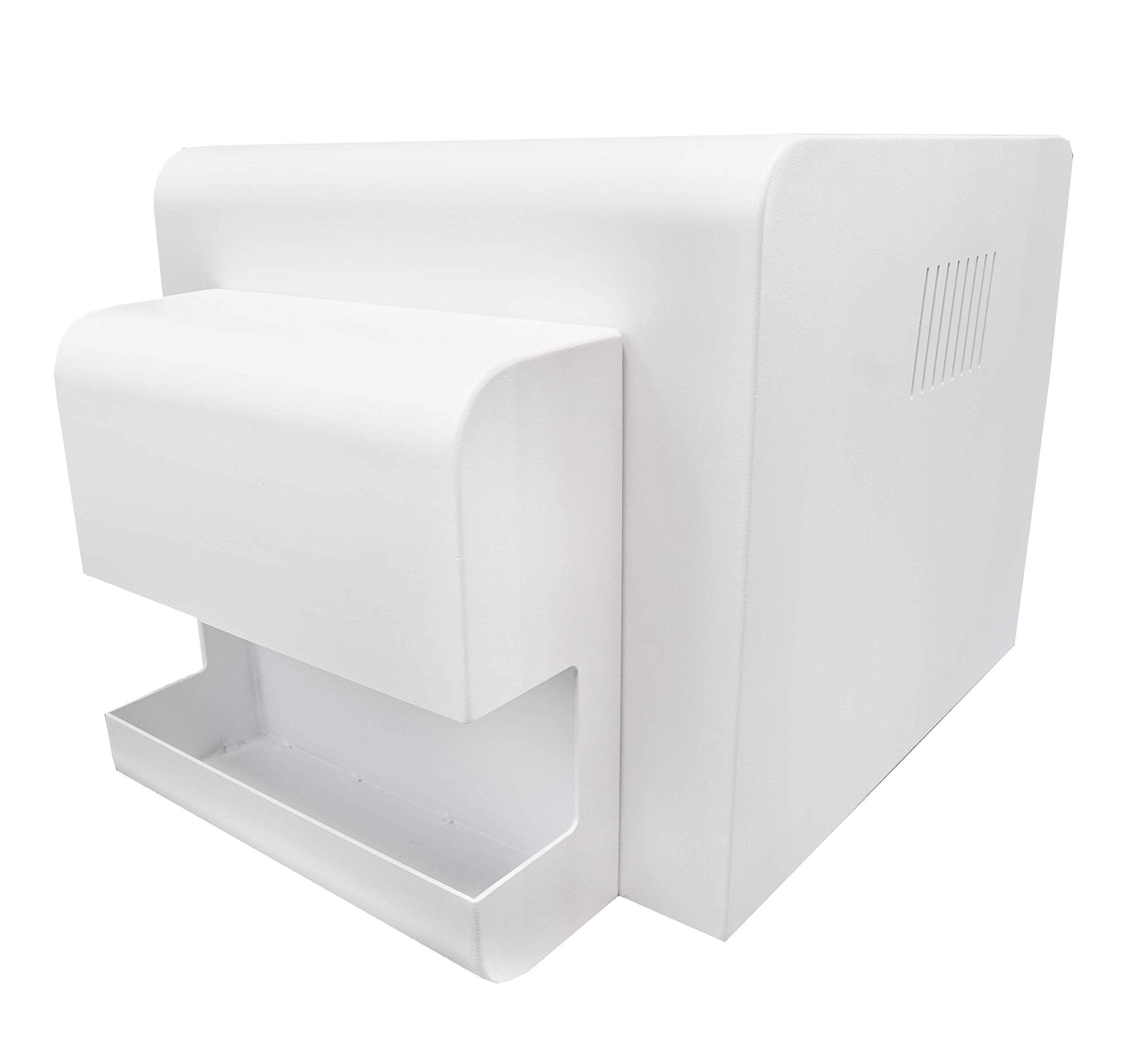 RX1HS Printer Cover with Removable Custom Tray White