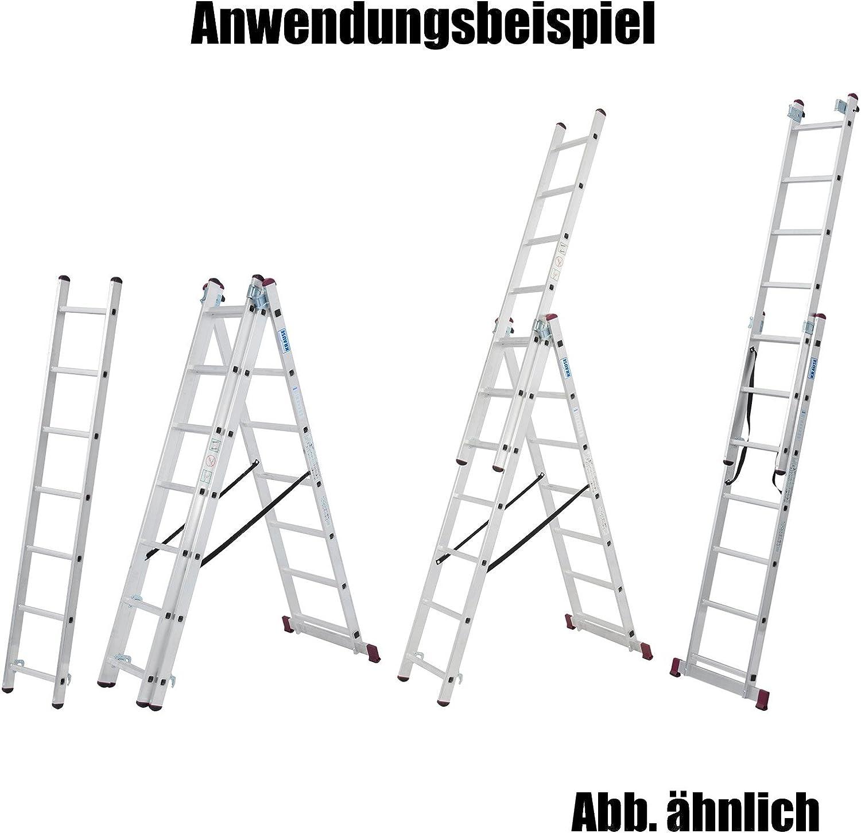 Leiter 3-teilig 9 Sprossen