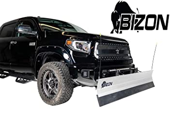 Amazon Com Bizon Aluminum Snow Plow Fits 2015 2018 Ford F150 Only