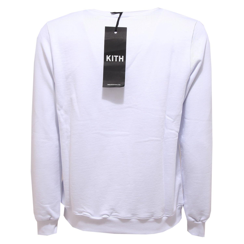 0266U felpa uomo KITH bianco white sweatshirt men   eBay