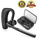 Auricular Bluetooth 4.1, Beshoop Manos Libres Bluetooth Auriculares Cancelación del Ruido Auricular Inalámbrico con Micrófono