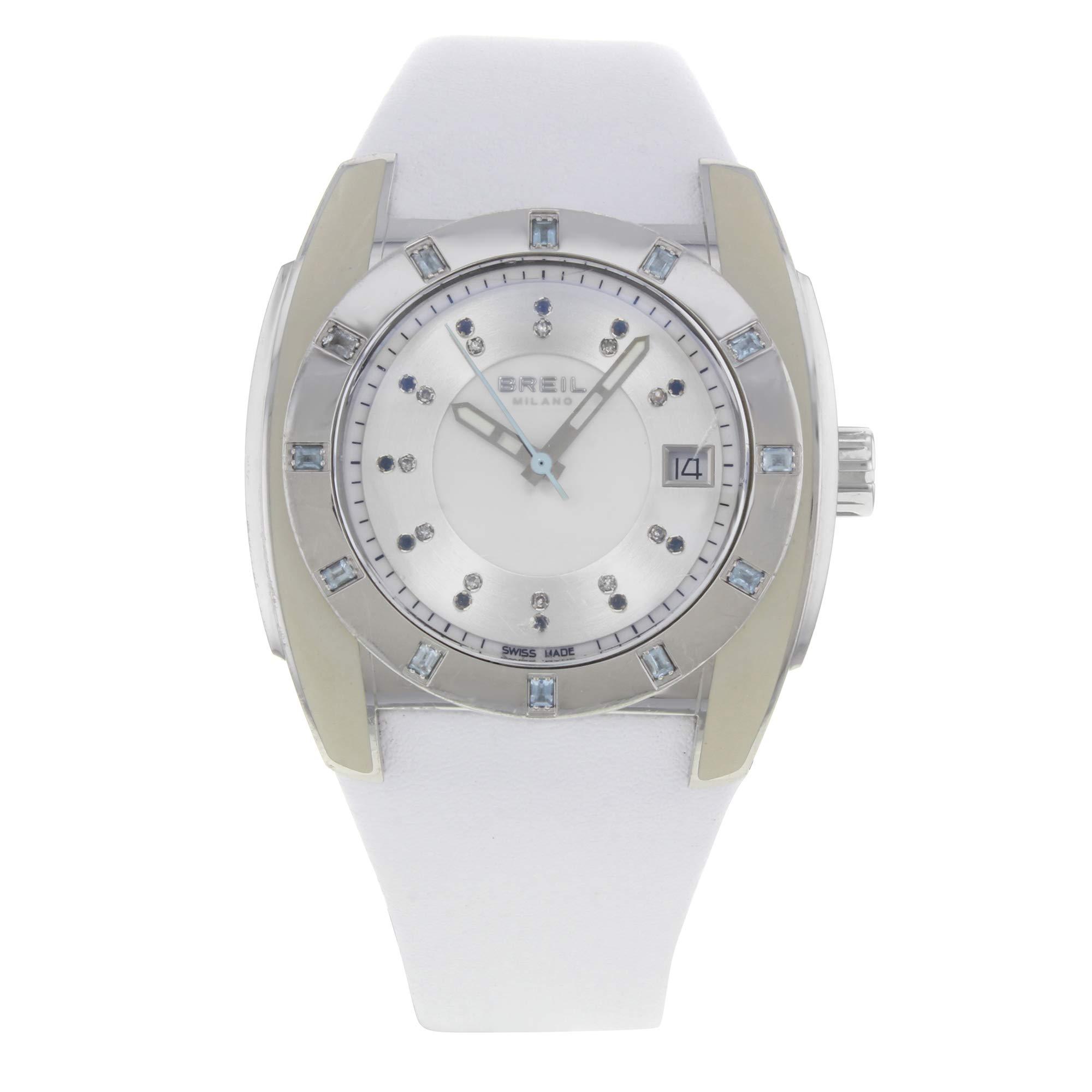 Breil Aquamarine Quartz Female Watch BW0520 (Certified Pre-Owned) by Breil