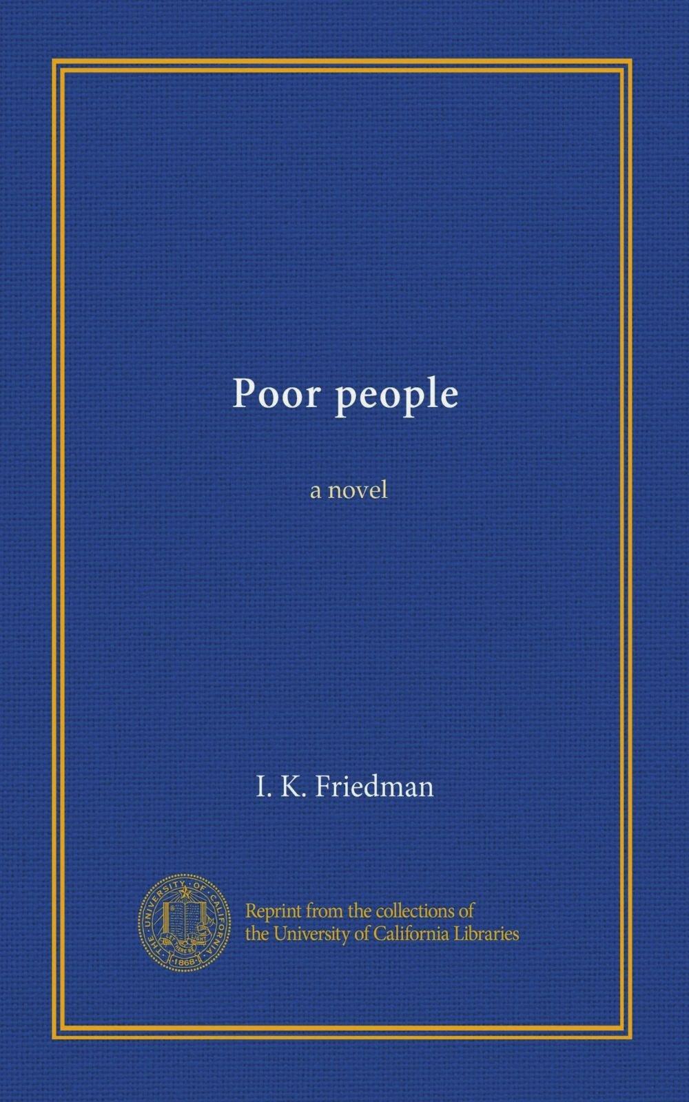 Poor people: a novel pdf epub
