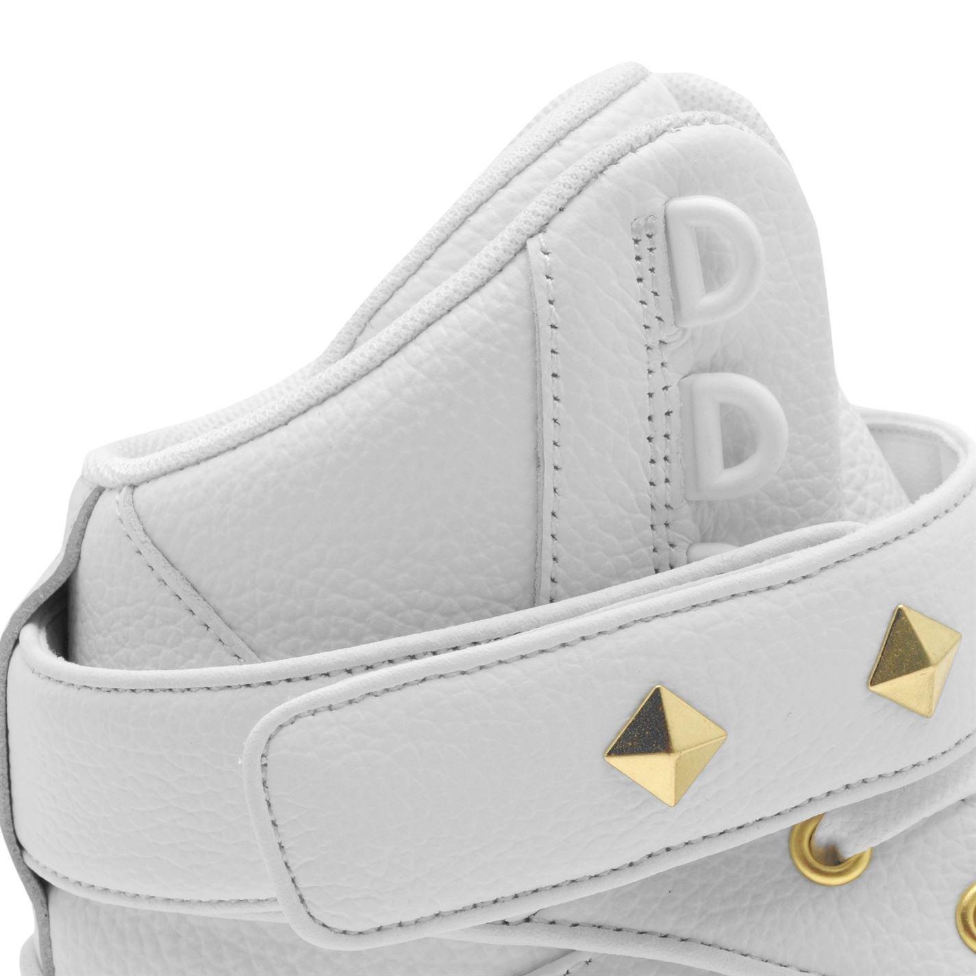 f1d2cd694849 Firetrap Bliss II Hit Top Baskets pour femme Blanc doré Sneakers Chaussures  Chaussures
